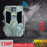 câmera Scouting portátil a pilhas da fuga do alarme de 12MP 1080P G/M MMS feita em China