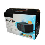 UPS DC Poe 45W для CCTV, маршрутизатора, камеры IP