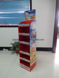 Kinder Cardboard Pallet Display Chcolate Carton Écran sur le sol
