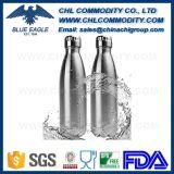 Frasco de vácuo com grau de FDA sem BPA em cor revestida em pó