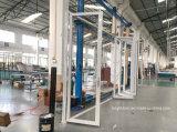 Buiten Sterk Bi die van het Aluminium van de Dubbele Verglazing Deur vouwen
