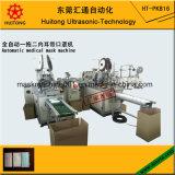 Automatische medizinische Schablonen-Maschine (2 earloop Maschinen)
