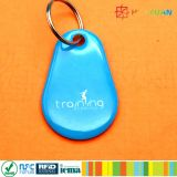 Keyfobs Keychain водоустойчивого Tk4100 Em4200 RFID силикона печатание лазера франтовские epoxy