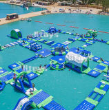 Lilytoys PVC海のための膨脹可能な水生水公園