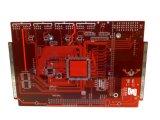 Control Vias enterrado Pcbblind de la impedancia de 4 capas para el amplificador del coche