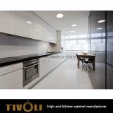 키 큰 식품 저장실 붙박이 오븐 MDF 백색 색칠 부엌 가구 (AP012)