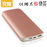 La batería portable de la potencia D88 con el color modificado para requisitos particulares para el teléfono móvil D88 se dobla salida