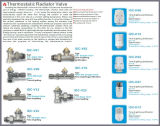 Oppoetsende Lichaam van de Klep van de Radiator van de hoek het Thermostatische (idc-V09)