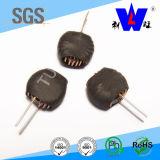inducteur toroïdal de bobine de volet d'air de faisceau de 150uh Sendust pour le matériel électronique