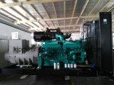 Grupo electrógeno diesel en silencio alimentado por el motor Cummins (KTA50-G3).