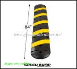Velocidad de caucho joroba amarillo y negro producto de la seguridad vial GW8001