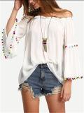 Mesdames fashion Tops Vêtements de loisirs de l'été des vêtements bon marché de gros