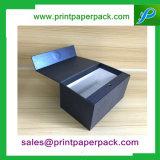 Anunció el rectángulo de empaquetado de papel de la cartulina cosmética de lujo hecha a mano del perfume