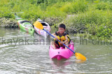 No de recreo infantil de plástico hinchable Kayak