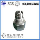 De Delen die van het Aluminium van het plastiek en van het Metaal CNC machinaal bewerken die Delen machinaal bewerkt