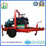 Bomba de escorvamento automático centrífuga principal elevada móvel para a irrigação de pulverizador