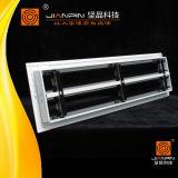 Diffusore lineare di alluminio della scanalatura con il deflettore registrabile