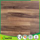 Plancher en bois de système Lvt de cliquetis de planche de PVC de registre d'anti glissade