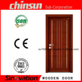 Puerta de madera interior con el MDF del PVC