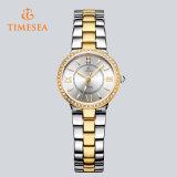 سيادة [ستينلسّ ستيل] مسيكة مجوهرات ساعة مع صفير زجاج 71193