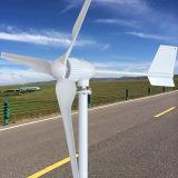 12V 24V 48V 96V de Horizontale Turbogenerator van de Macht van de Wind van de As 1500W