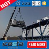 De Installaties van de Machine van de Fabriek van het Ijs van de Vlok van Icesta voor het Concrete Koelen