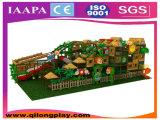 Den kundenspezifischen Innen Dschungel-Thema-Spielplatz vervollkommnen (QL-1111L)