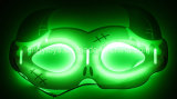 Het Masker Njd5155 van de Hoorn van de Gloed van Halloween