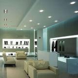 天井のための円形の版極度の薄いLEDのパネルはセリウムのRoHS SGSをインストールする