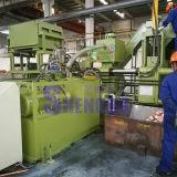 Bloco automático do medidor de bronze hidráulico que faz a máquina