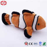 Blue Clown Cover and Stuffed Peluche Fish Custom Gift Toy