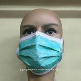 Mascarilla médica no tejida con el lazo disponible del lazo en la mascarilla para el cirujano