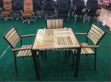 Patio du Jardin meubles de bois plastique extérieur (LL-RST010)