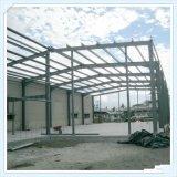 Edificio de marco de acero constructivo prefabricado ligero de la estructura de acero