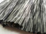 Tela que hace punto de Jersey del Spandex de Cationpolyester sola para Casualwear (HD2203058)