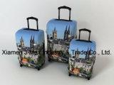 Spandex-Arbeitsweg-Gepäck-Deckel befestigt Gepäck des Zoll-18-32, hoch das Gummiband, waschbar, kommt in verschiedenes Drucken, Laufkatze-Deckel, Deutschland