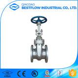 Válvulas de porta flangeadas do aço inoxidável