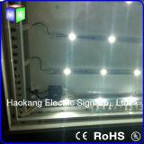 LEDの空港印のために広告する防水ライトボックスLEDファブリックSignboard
