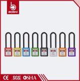 BD-G37 76mm het Oranje Nylon Lange Hangslot van de Veiligheid van de Sluiting Shckle