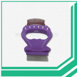 Qualitäts-Haustier-Pinsel-Shell-Form-Kamm-Nadel-Kamm für Haustier