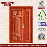 Античная двойная дверь китайского типа неравная (GSP1-010)