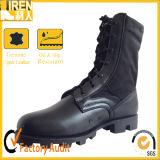 Zwart Echt Leer Onze Delta Militaire Laarzen van de Deur
