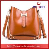 Form-Wannen-geformte Schulter-Beutel-Leder-Handtasche