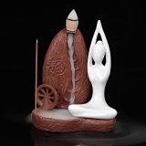 Censer di ceramica Incense/E del bruciatore di incenso di yoga di originalità