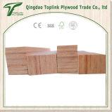Muro de madeira de Birch Moldura de cama e linho