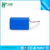 Densidad de gran energía, paquete 2600mAh de la batería del Li-ion de la vida de un almacenaje más largo 4s 14.8V 18650