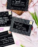 L'estampage à chaud de couleur blanc argenté feuille feuille de transfert de chaleur en aluminium Feuille de papier sur la carte de voeux Carte de souvenirs de la carte cadeau