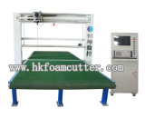 Hengkun CNCの縦の振動の刃のスポンジの打抜き機