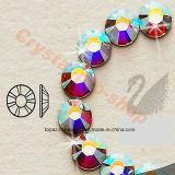 Изумрудные Rhinestones цвета Ss20 Flatback Non Hotfix Ab стеклянные для стиля Арт Деко ногтя