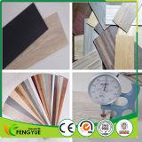 Venta caliente la escuela sin formaldehído puntal piso vinílico de PVC de fibra de vidrio.
